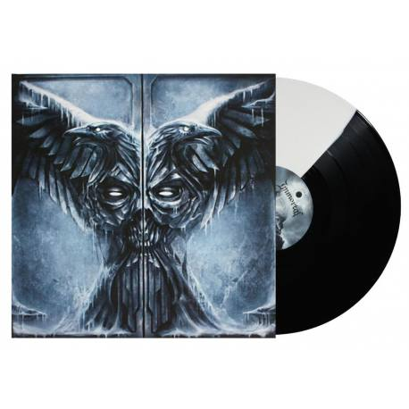 IMMORTAL All shall fall Gatefold LP (bicolore blanc/noir)