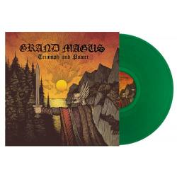 GRAND MAGUS Triumph And Power limited green vinyl LP