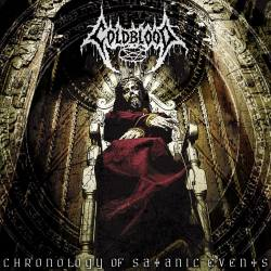 COLDBLOOD Chronology Of Satanic Events CD