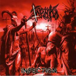 SATANIKA Infection gatefold vinyl LP - Black Thrash Metal