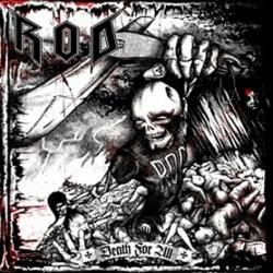 R.O.D (Razor of death) Death For All CD