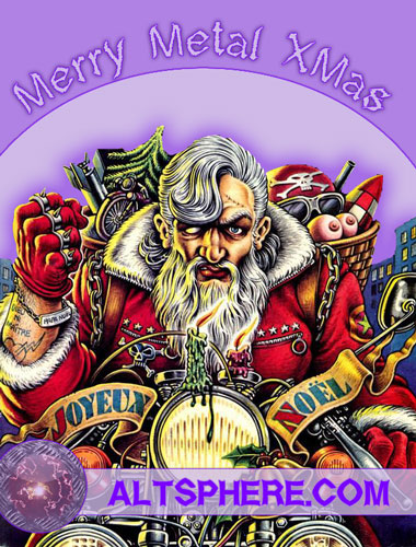 Merry Metal X-Mas : Metal CD Vinyls Tapes discounted
