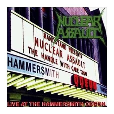 "NUCLEAR ASSAULT ""Live at hammersmith"" Gatefold LP"