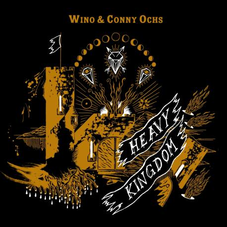 WINO & CONNY OCHS Heavy Kingdom LP