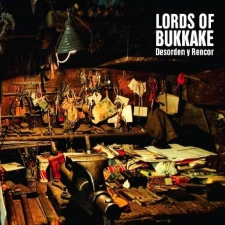 LORDS OF BUKKAKE Desorden Y Rencor CD