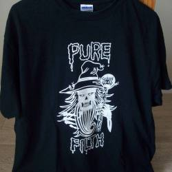 WIZARD'S BEARD Pure Filth T-shirt size L