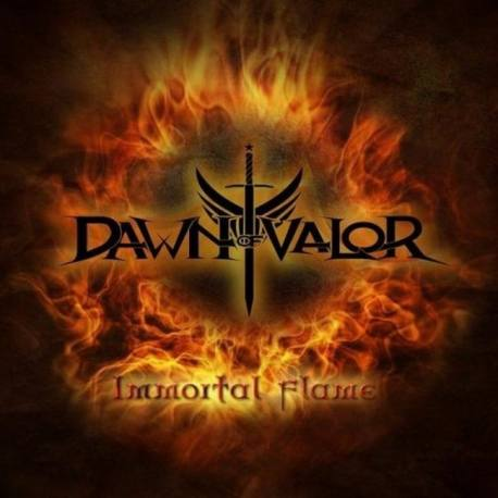 "DAWN OF VALOR Immortal Flame vinyl 7"" EP"