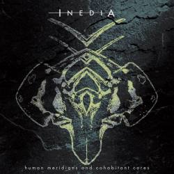 INEDIA Human Meridians And Cohabitant Cores CD - album death métal / métal alternatif