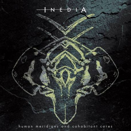 INEDIA Human Meridians And Cohabitant Cores CD - death metal alternative metal record