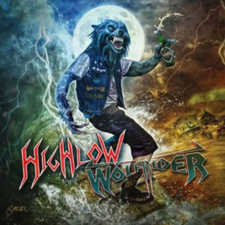 HIGHLOW / WÖLFRIDER Wölf Riding High and Low CD- heavy metal