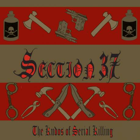 SECTION 37 The Kudos Of Serial Killing CD - electro rock industriel