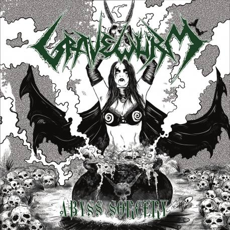 GRAVEWÜRM Abyss Sorcery CD - black death metal