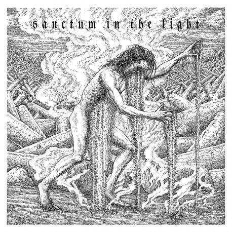 OF SPIRE AND THRONE Sanctum In The Light Digipack - sludge doom métal