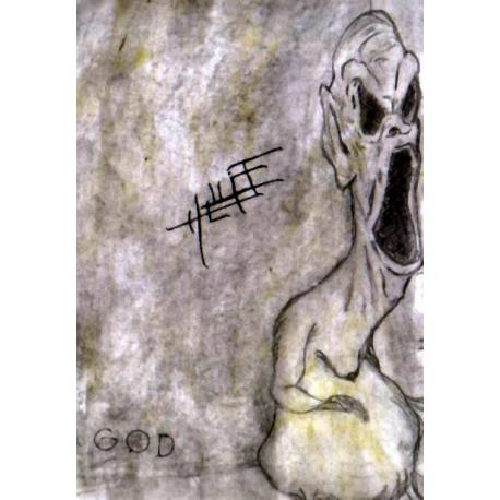 HELLIGE God cassette tape - black metal blackened sludge doom