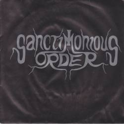 "SANCTIMONIOUS ORDER Christalized Blood vinyl 7"" EP"