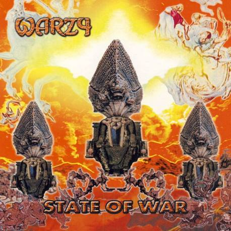 WARZY State Of War CD - Heavy métal du Japon