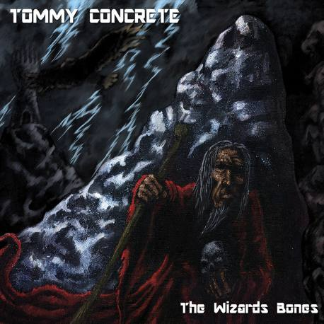 TOMMY CONCRETE The Wizards Bones Digipack - Heavy Speed Metal ala Mötörhead