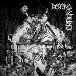 DESTINO/ENTIERRO Cryptic Procession of the Yellow Sign - doom death métal