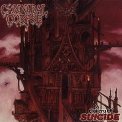 CANNIBAL CORPSE Gallery Of Suicide Vinyle gatefold LP (clear)