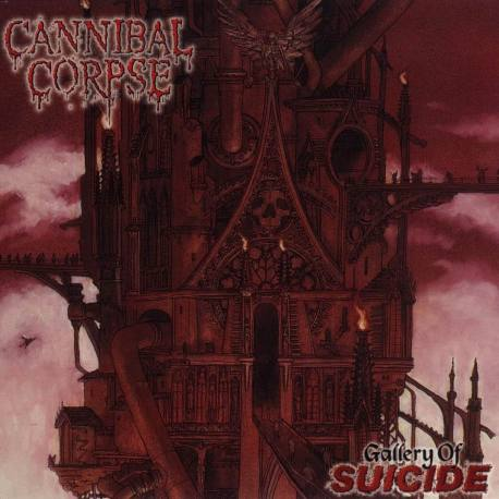 CANNIBAL CORPSE Gallery Of Suicide clear vinyl lp - death metal