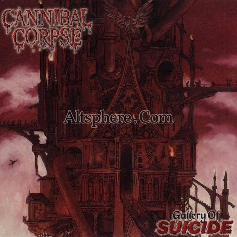 Cannibal Corpse Gallery Of Suicide Clear Vinyl Lp Cult