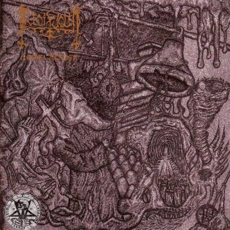 LUCIFUGUM Agonia Agnosti CD - Authentic Satanic Black Metal