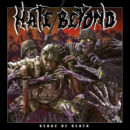HATE BEYOND Verge Of Death digipack CD - thrash death metal Japan