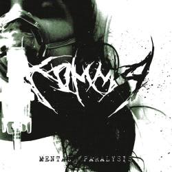 KOMMA Mental Paralysis CD - dark technical grindcore