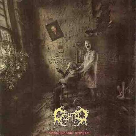 CRIPTOR Cancerigeno Cerebral CD - death metal from Ecuador