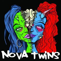 "NOVA TWINS Nova Twins vinyl 10"" EP green disc - urban punk"