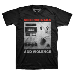 NINE INCH NAILS Add Violence cover T-Shirt