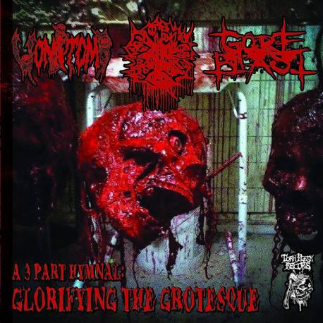 VOMITOMB / BLASPHEMATION / GORE BLAST Glorifying the Grotesque - grindcore