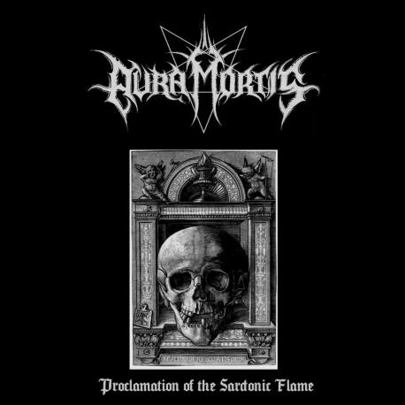 AURA MORTIS Proclamation Of The Sardonic Flame CD - black métal