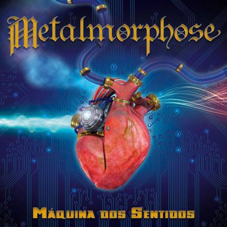 METALMORPHOSE Máquina Dos Sentidos Vinyl LP - traditional heavy metal