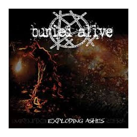 BURIED ALIVE Exploding Ashes CD - death thrash metal