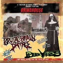 PUSSYVIBES / BRUTAL BRAIN DAMAGE Grindhouse CD