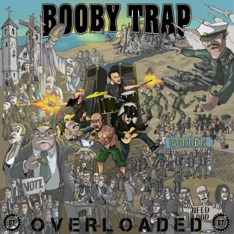 BOOBY TRAP Overloaded- crossover thrash punk
