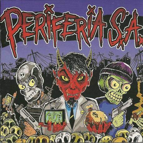 PERIFERIA SA Periferia SA CD - punk hardcore