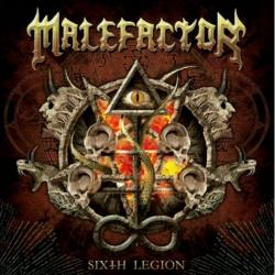 MALEFACTOR Sixth Legion - melodic death metal