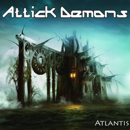 ATTICK DEMONS Atlantis - heavy métal Iron Maiden