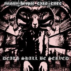 MISANTHROPIC EXISTENCE Death Shall Be Served Digipack CD