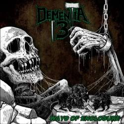 DEMENTIA 13 Ways Of Enclosure Green vinyl LP