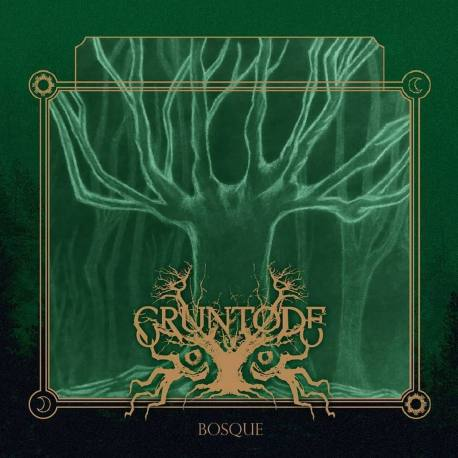 GRUNTODE Bosque CD - folk doom metal