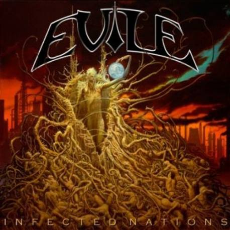 "EVILE ""Infected nation"" 2xLp"
