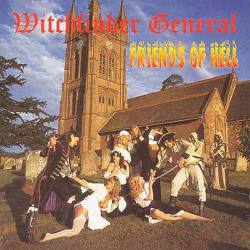 WITCHFINDER GENERAL Friends of Hell Gatefold Vinyle LP jaune