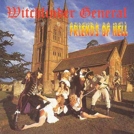 "[Pre-order Price] WITCHFINDER GENERAL ""Friends of Hell"""