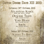 Surtr jouera au Dutch Doom Days Festival XII